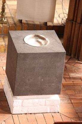 Der Taufstein der Andreaskirche Kuddewörde